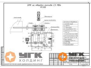 БМК Угольная 2,5 МВт